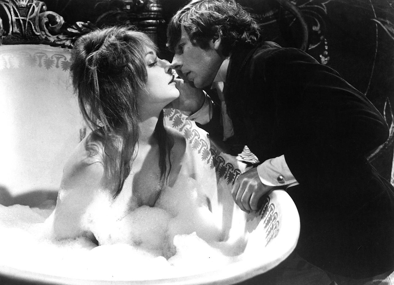 This 1967 film about a vampire hunter, in which Tate plays the kidnapped daughter of an innkeeper, introduced the actress to future husband Roman Polanski, who she began dating while shooting. They married in January 1968, the year before her murder.
