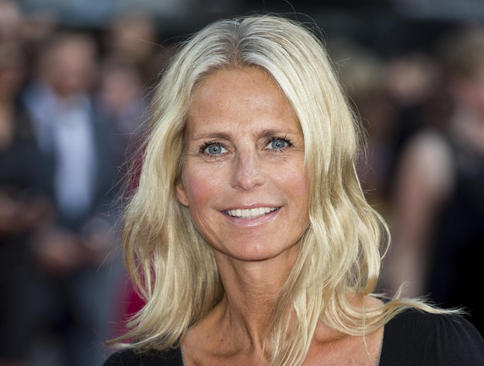 LONDON, ENGLAND - AUGUST 20:  Ulrika Jonsson attends the World Premiere of 'One Direction: This Is Us' at Empire Leicester Square on August 20, 2013 in London, England.  (Photo by Mark Cuthbert/UK Press via Getty Images)