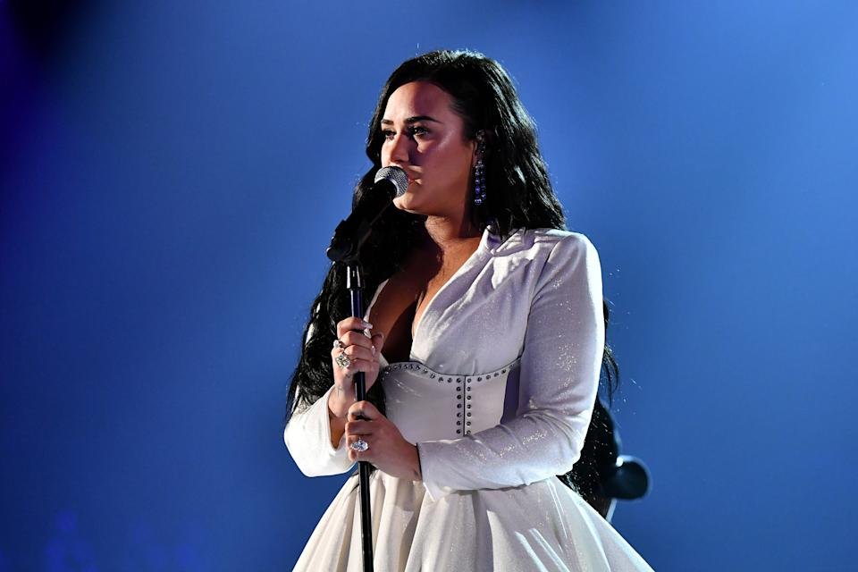 <p>Demi Lovato will discuss her near-fatal overdose in a new YouTube docuseries.</p> (Getty Images)