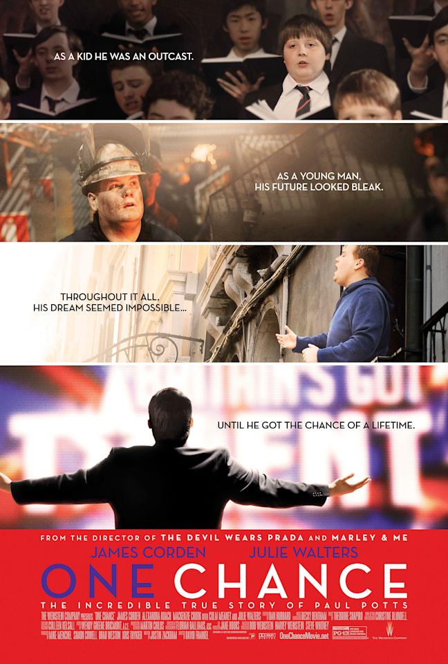 """James Corden stars in The Weinstein Company's """"One Chance"""" - 2013"""