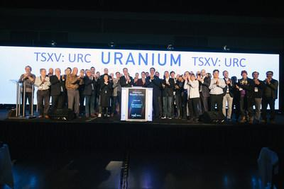 Uranium Royalty Corp. Closes the Market (CNW Group/TMX Group Limited)