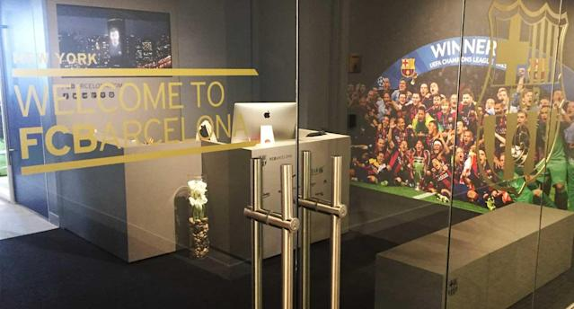 Barça hopes its NYC office will open new doors in America. (Yahoo Sports)