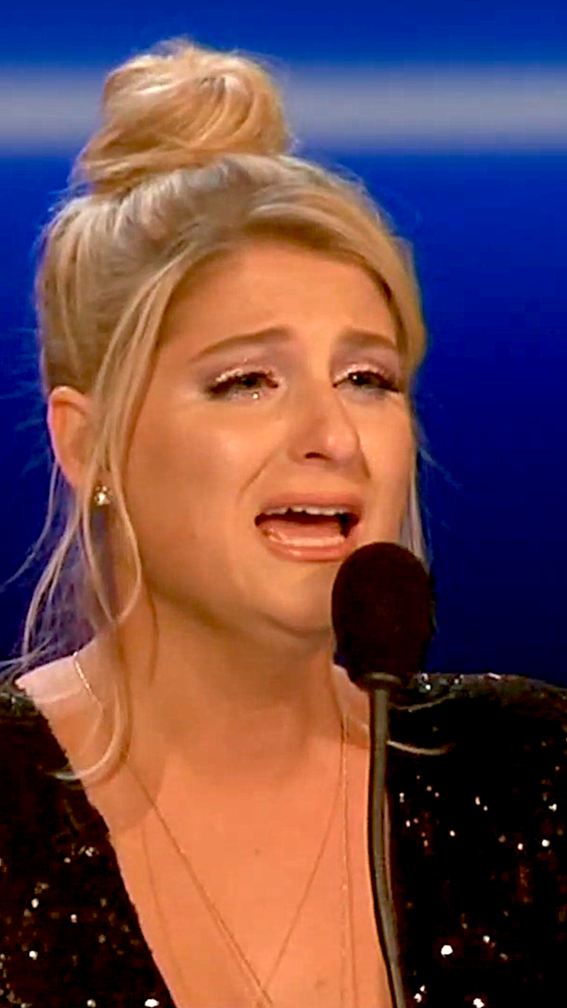 Last night, Meghan Trainor's emotions were running high as she fought to be heard after one of her favorites was knocked out on <em>The Four</em>. Christina Aguilera was honored via a lip-synch battle. And Will Ferrell had a little fun heckling Jimmy Fallon.