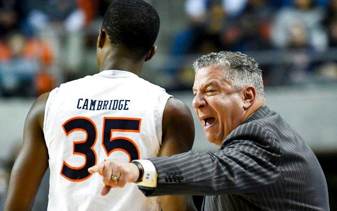 No. 12 Auburn out to hot 10-0 start