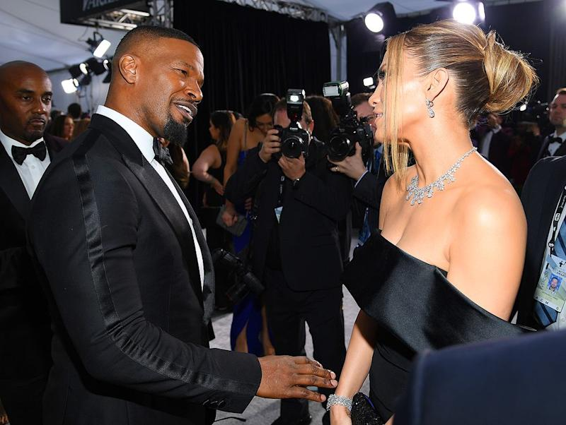 Jamie Foxx and Jennifer Lopez | Dimitrios Kambouris/Getty