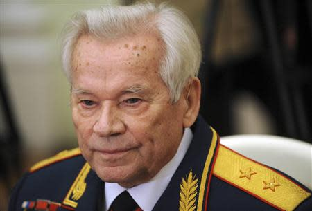 File picture Kalashnikov in Moscow