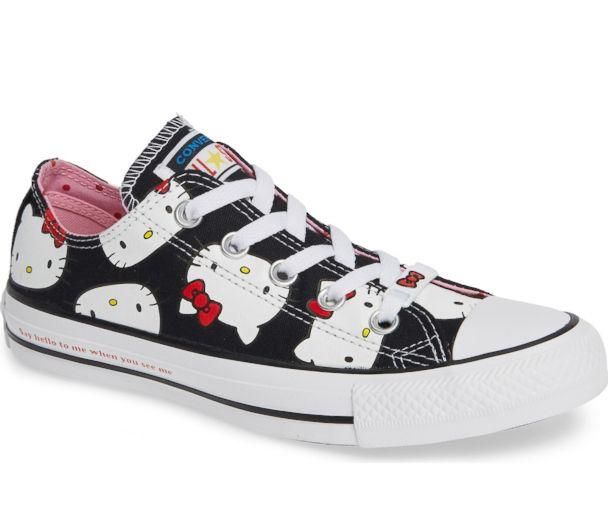 PHOTO: These Converse Chuck Taylor All Star sneakers feature Hello Kitty. (Nordstrom)