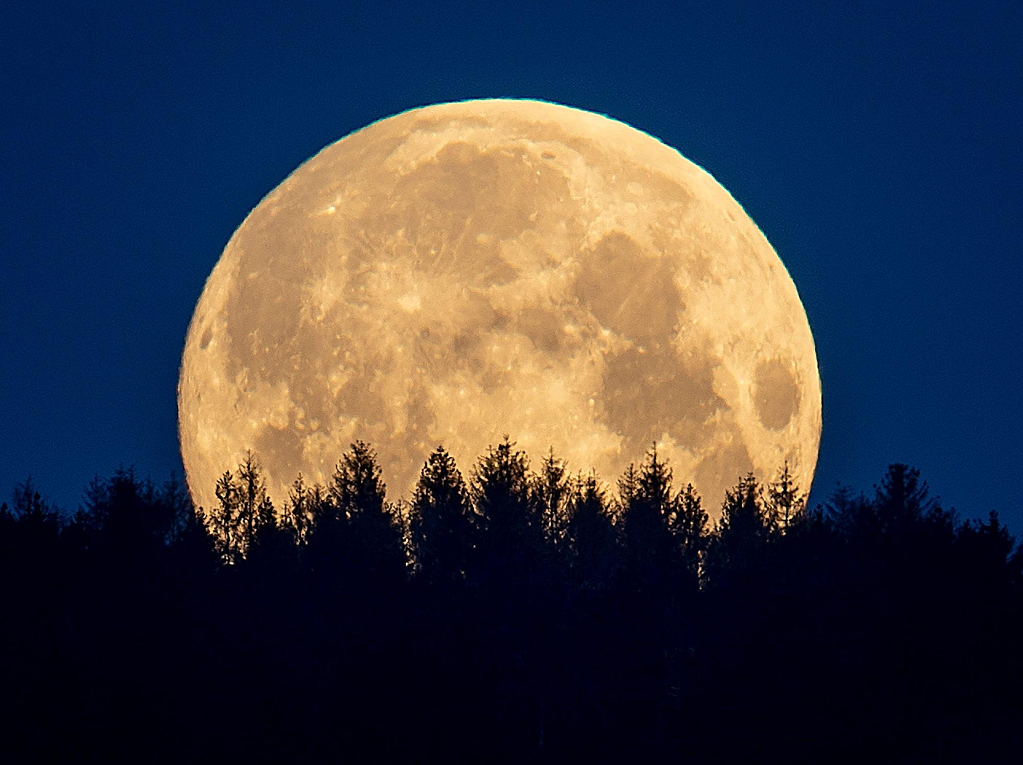 A rare Blue Blood Moon rises on Halloween. Here's what that means.
