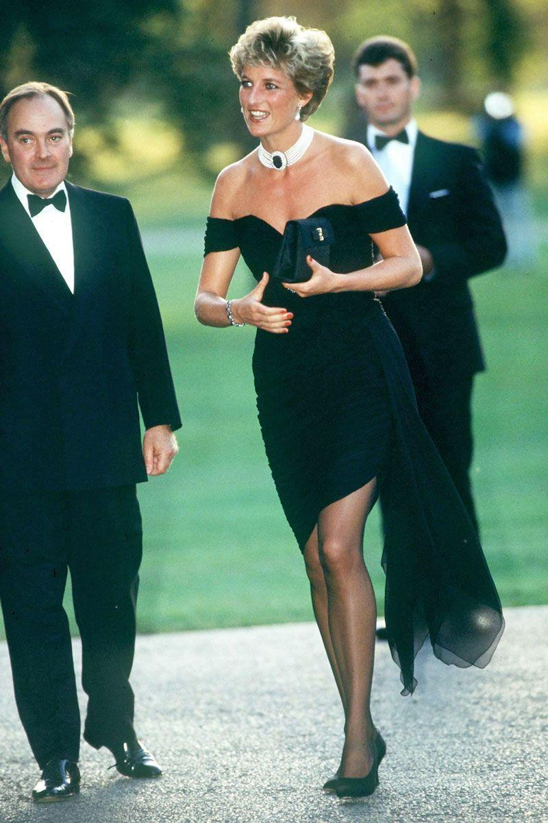 """<p>Princess Diana's off-the-shoulder, form-fitting silk little black dress has been labeled """"the revenge dress."""" She wore it the same night Prince Charles aired his tell-all documentary about the couple's marriage and subsequent divorce. Although Diana didn't make a statement that night, her LBD spoke volumes. </p>"""