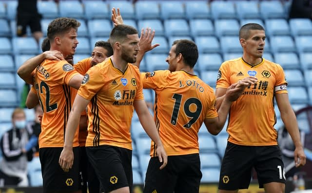 Wolves have won all three matches since the Premier League's resumption (Tim Keeton/NMC Pool/PA)