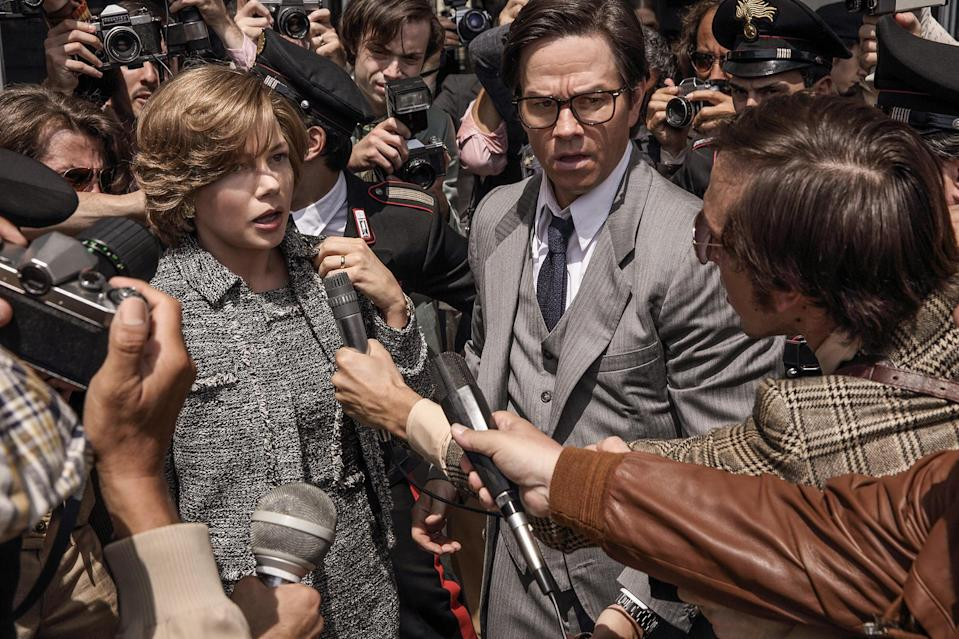 Michelle Williams was paid less than $1000 compared to Mark Wahlberg's $1.5 million (Sony)