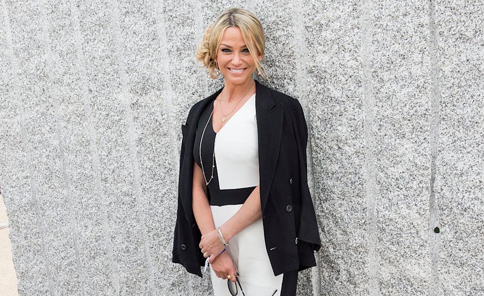 Sarah Harding has tragically past away following her breast cancer diagnosis, pictured in May 2016. (Getty Images)