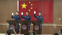 Chinese astronauts meet media ahead of Thursday's launch