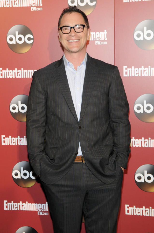 Joshua Malina attends the Entertainment Weekly & ABC 2013 New York Upfront Party at The General on May 14, 2013 in New York City.