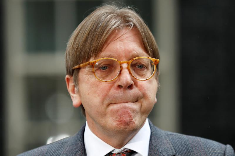 European Parliament Brexit co-ordinator Guy Verhofstadt has ridiculed Nigel Farage (Picture: Reuters)