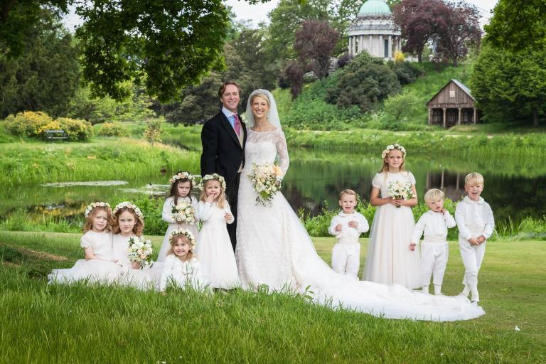 Stunning new portraits of Lady Gabriella Windsor and new husband Thomas Kingston