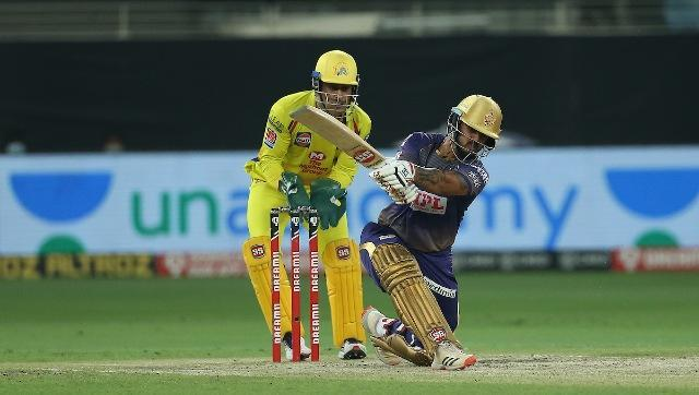 Nitish Rana top-scored for KKR with a blistering knock of 87 off just 61 balls. The left-hander's knock was laced with 10 fours and four maximums. Sportzpics