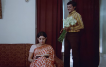 Inspired by Mannu Bhandari's short story <em>Yahi Sach Hai</em>, <em>Rajnigandha</em> spoke about the dilemma of a young woman struggling with her feelings for the man she loves and is about to get married to, and an old love. With its lilting music, delightful performances, and relatable aesthetics, the film became a middle-cinema classic for the ages.