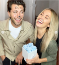 <p>There are many different Rosses and Rachels to choose from for celebrity Halloween costumes. <em>Bachelorette</em> alum Kaitlyn Bristowe and Jason Tartick opted for the Vegas Ross and Rachel for a 2019 party, complete with drawn-on cat whiskers and mustache.</p>