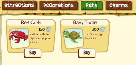 Tiki Resort adds pets to the island store