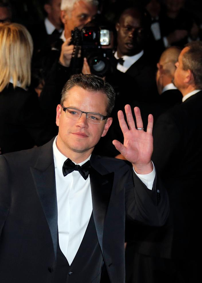 "<a href=""http://weedquotes.blogspot.com/2011/05/matt-damon-weed-quotes.html"" rel=""nofollow noopener"" target=""_blank"" data-ylk=""slk:""The first time I smoked was at home with my mother and step-father."""" class=""link rapid-noclick-resp"">""The first time I smoked was at home with my mother and step-father.""</a>"