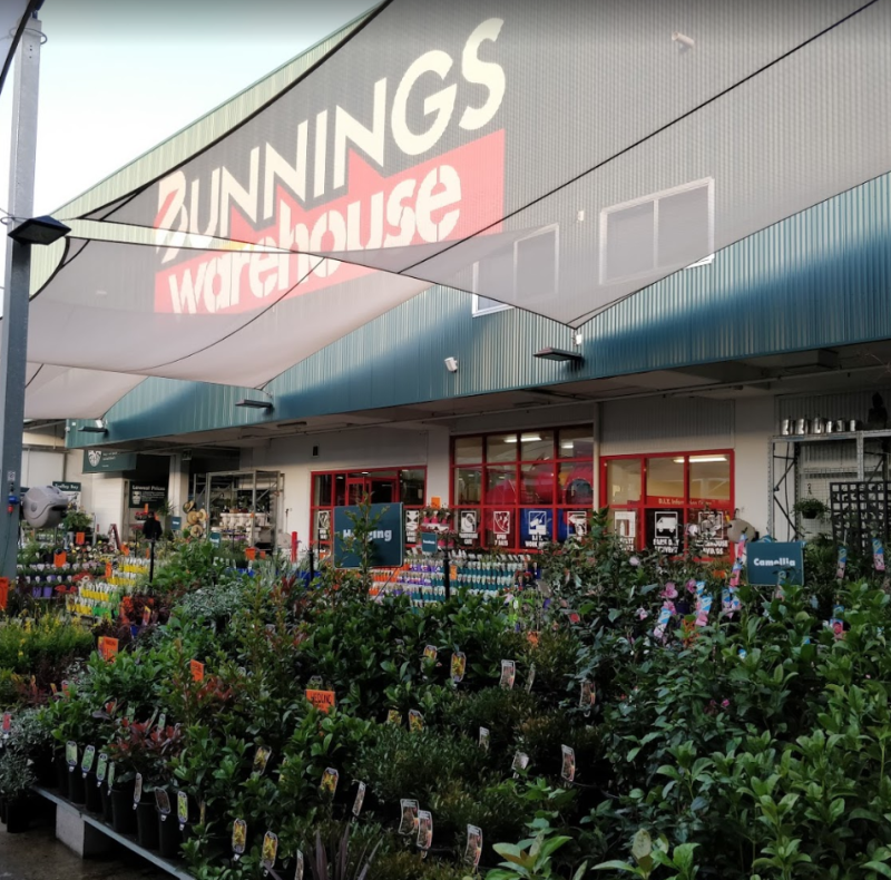 A picture of plants in front of a Bunnings store. Source: Google Maps/Benson Fung