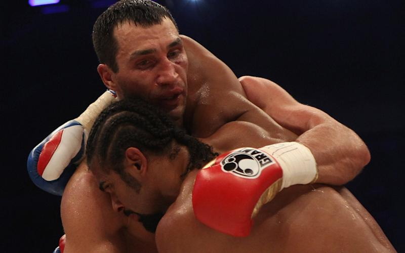 Holding has become one of Klitschko's survival tactics - Bongarts
