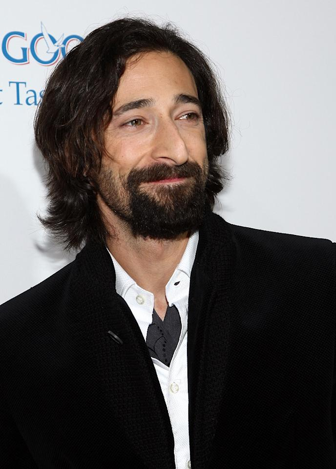 """<a href=""""http://movies.yahoo.com/movie/contributor/1800018941"""">Adrien Brody</a> at the Los Angeles premiere of <a href=""""http://movies.yahoo.com/movie/1810003875/info"""">Cadillac Records</a> - 11/24/2008"""