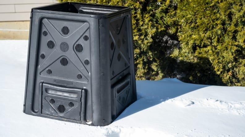 The 65-gallon Redmon compost bin is our choice for Best Overall.