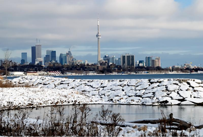 Toronto sits above average for snow despite overall wimpy winter