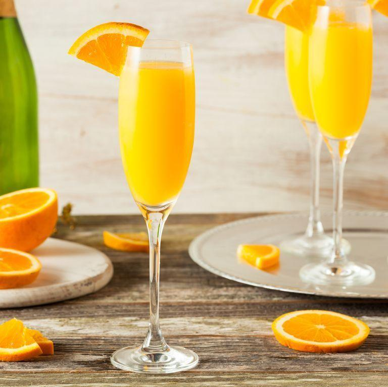 "<p>In recent years, the humble mimosa has soared in popularity making drinking before midday acceptable as long as you snap a photo of your <a href=""https://www.delish.com/uk/food-news/a30807380/stop-avocado-going-brown-hack-lettuce/"" rel=""nofollow noopener"" target=""_blank"" data-ylk=""slk:avo on toast"" class=""link rapid-noclick-resp"">avo on toast</a> and tag it #brunchgoals.</p><p>Get the <a href=""https://www.delish.com/uk/cocktails-drinks/a30924062/mimosa-cocktail/"" rel=""nofollow noopener"" target=""_blank"" data-ylk=""slk:Mimosa"" class=""link rapid-noclick-resp"">Mimosa</a> recipe.</p>"