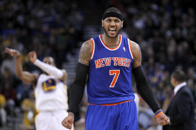 Carmelo Anthony, after getting $124 million from Knicks: 'I want to win. I don't care about the money'