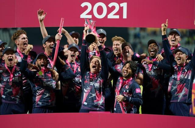 Kent were crowned Vitality Blast champions this weekend (Mike Egerton/PA)