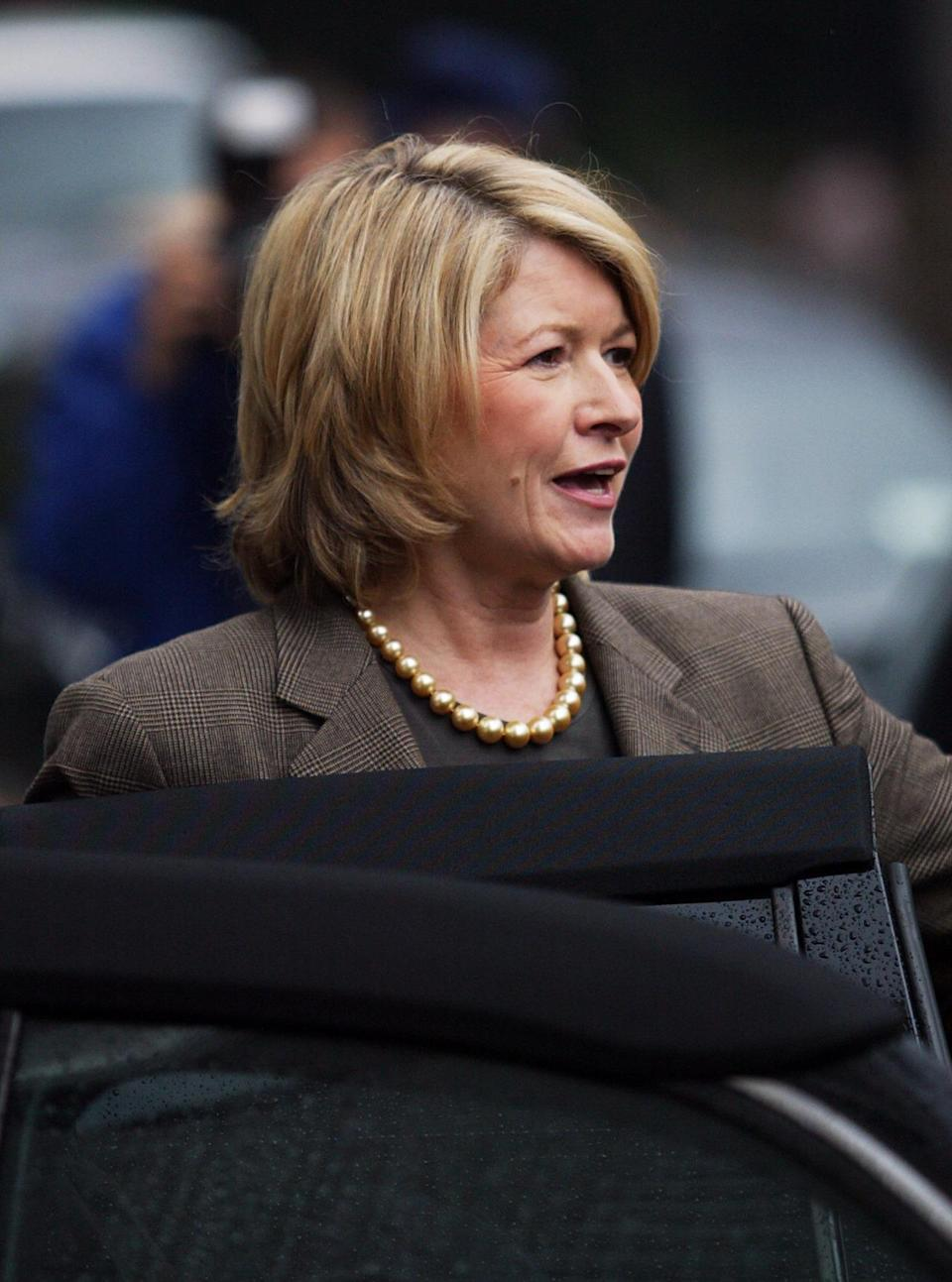 Martha Stewart may seem to have her shit together, but when the home-and-garden guru didn't pay taxes on her East Hampton mansion, Stewart owed the government $220,000. (Photo: Getty Images)