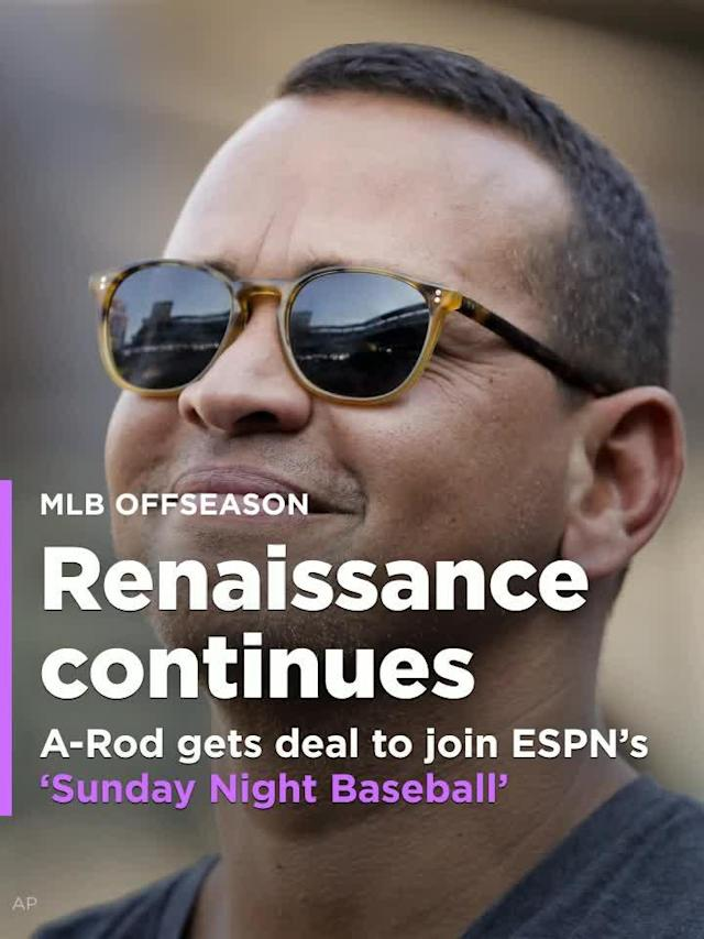 A-Rod gets unprecedented deal to join ESPN's 'Sunday Night Baseball