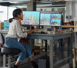 Delivering breathtaking radiance & razor-sharp clarity, HP Z Displays bring seamless color accuracy, unrivaled performance, and end-to-end environmental responsibility.