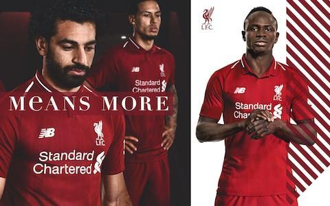 "Liverpool have unveiled their new home kit for the 2018/19 season. The strip – which retains the retro, deeper-red colour of the current campaign – will be worn for the first time during the club's final home game of the season against Brighton in May. The Merseyside club are marketing the jersey as 'Red Pepper'. Should Liverpool reach the Champions League final, it could even make its second appearance before the end of this season. Liverpool are the designated away team in the final, so that would only be possible if they get through to play Real Madrid in Kiev. Captain Jordan Henderson admits he is dreaming of joining the elite group of Liverpool captains to lift the European Cup. Sadio Mane (right) in the new kit Credit: LFC Only four Anfield skippers have enjoyed the privilege, Emlyn Hughes (1977 & 1978), Phil Thompson (1981), Graeme Souness (1984) and Steven Gerrard (2005). Although Henderson issued a reminder of a tough challenge to get past AS Roma, he said it is natural for any player to consider the possibility of fulfilling the ultimate ambition as it gets closer. ""I think you dream about those things when you are a kid, really. Of course I have, as many other players have, but one step at a time,"" said Henderson, speaking at the kit launch. Mohamed Salah, Loris Karius and Jordan Henderson Credit: LFC ""Roma are a fantastic team and it will be a tough test for us so we will just have to wait and see. ""We certainly won't under-estimate them. They beat Barcelona 3-0 and they are a top team. It will be a difficult game both home and away. ""I've watched them a few times and they have got some very good players and a very good team. It will be a tough test, as it always would be in the semi-final of the Champions League, but it is a challenge for us to go in there being confident with the way we have been playing, especially in the last round. ""We have to go there and do what we have been doing and hopefully get to the final."" Henderson is confident but cautious about current form. Why I'm expecting a Liverpool vs Bayern final ""We are obviously in a good place at the moment but at the same time it is important not to get too carried away,"" he said. ""Our focus is on playing football and doing everything we can to win games, whether that is in the Premier League or the Champions League. We have some big games coming up but we just need to continue doing what we have been doing most of the season, work hard on the training field and put that into games and hopefully at the end of the season we end on a high. Premier League kit 2017/18 ""It is a young team but I feel they are mature at the same time and are hungry to want more, learn and improve and that is the biggest thing. ""I think midweek showed that; having beaten City away and then put in the performance we did against Bournemouth shows the mentality of the players so we need to continue that, stay together as a group and focus on what is important."" Pre-order the 18/19 Home Kit from the Official Liverpool FC Online Store"