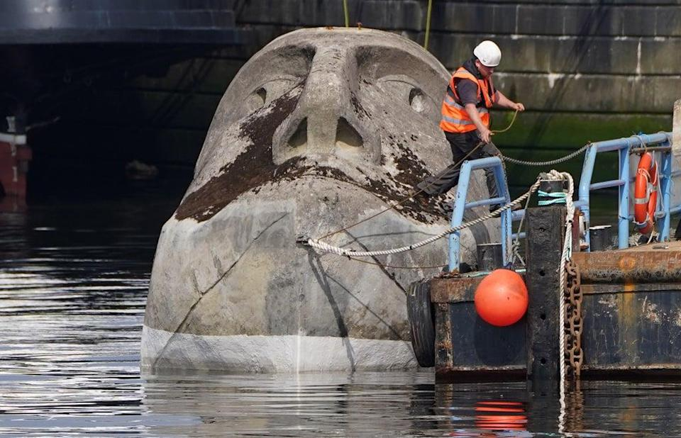 The sculpture will be on display in Glasgow (Andrew Milligan/PA) (PA Wire)