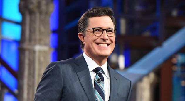 UPDATED With Video Stephen Colbert Turned Lesley Stahls Interview President Donald Trump In Which POTUS Snapped Im And Youre Not