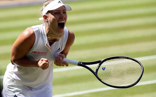 Kerber has reached her second Wimbledon final - PA