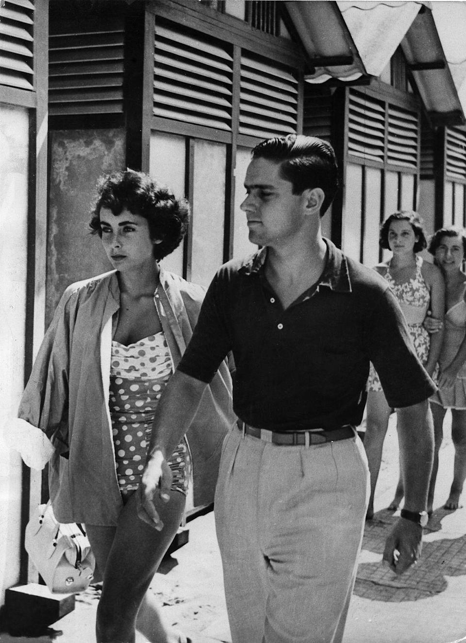 <p>The actress' marriage to Conrad began to break down throughout its first year and the couple's divorce was finalized by 1951. </p>