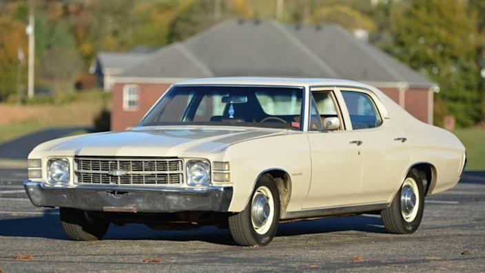 1971 Chevrolet Chevelle Survivor Is A Cool Sunday Cruiser