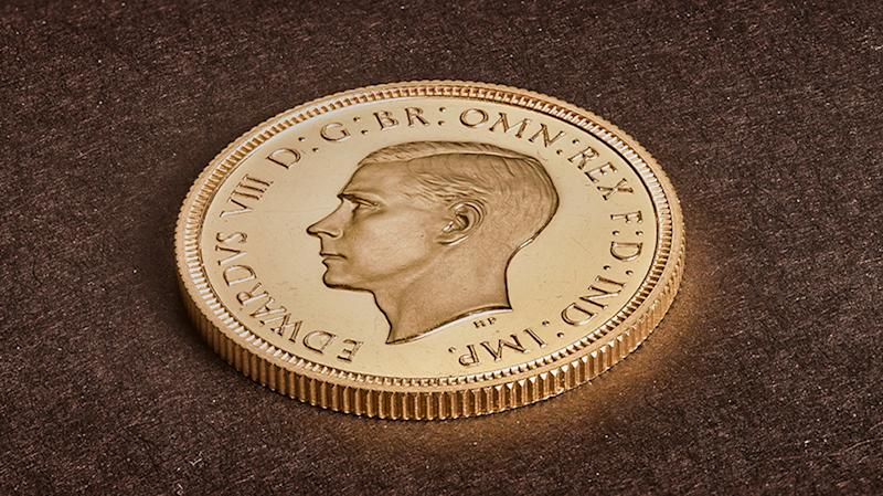 Rare Edward VIII sovereign sets new sales record at £1m