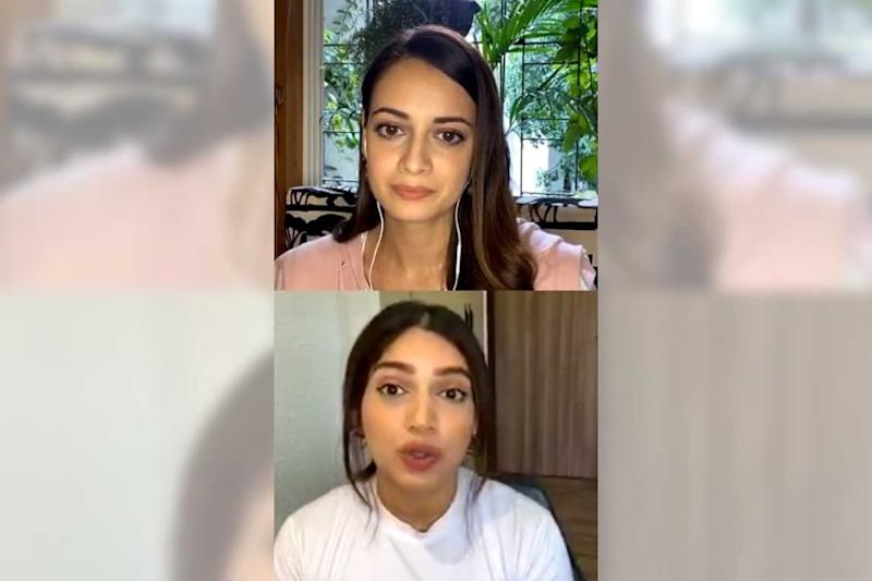 Dia Mirza Calls Bhumi Pednekar 'A Relentless Climate Warrior,' Latter Confesses Drawing Inspiration From Her