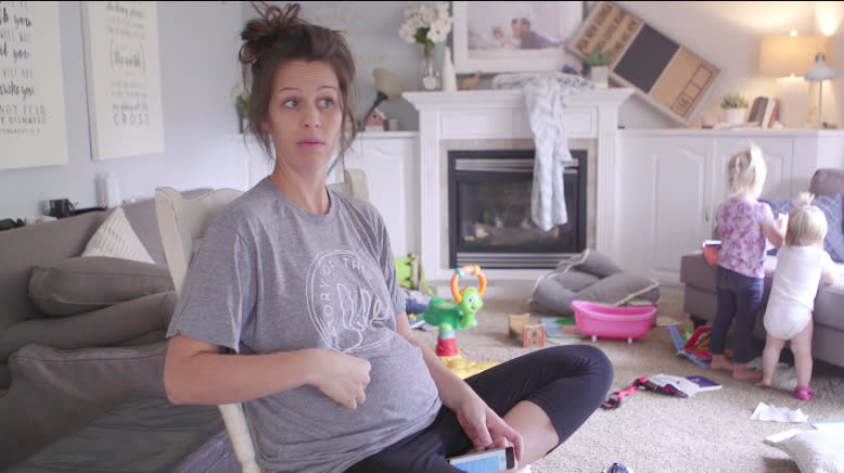 Mom's Viral Video Sums Up The First Pregnancy vs. The Rest Of Them