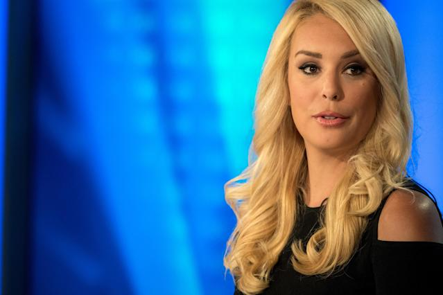 "Britt McHenry announced that she has a brain tumor and that ""surgery is imminent."" (Photo by Mary F. Calvert For The Washington Post via Getty Images)"