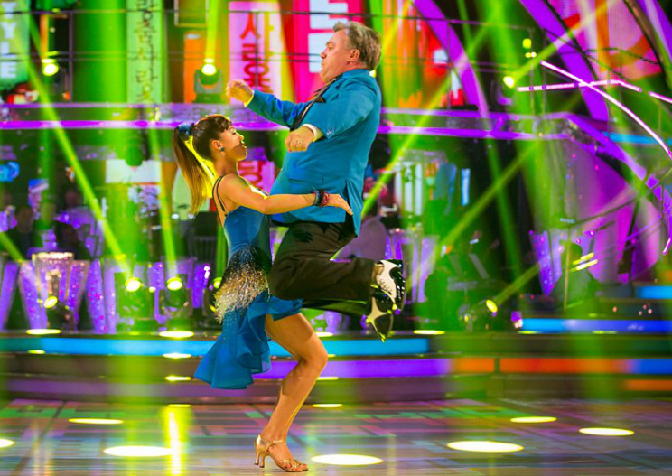 Ed Balls Gangnam Style on Strictly Come Dancing