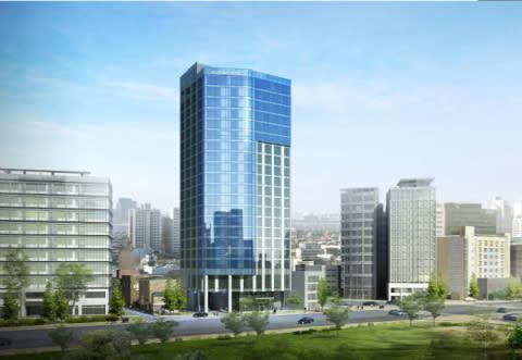 Located in Seoul's Dongdaemun district, Hyatt Place Seoul is expected to open in 2016. (Photo: Busin ...
