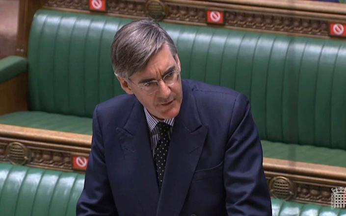 """Julian Lewis was playing """"ducks and drakes"""" with Labour, says Jacob Rees-Mogg"""