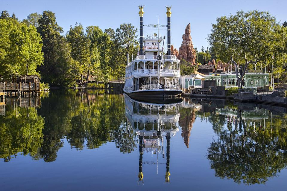 "<p>When Disneyland opened in 1955, its famous railroad ran on coal. Today, both the steam trains and Mark Twain Riverboat use fuel made from the resort's many restaurants. Next time you dine at Disneyland, your meal may actually be helping to cut <a href=""https://www.popsugar.com/news/bill-nye-climate-change-sustainability-interview-48235808"" class=""link rapid-noclick-resp"" rel=""nofollow noopener"" target=""_blank"" data-ylk=""slk:greenhouse gas emissions"">greenhouse gas emissions</a>.</p>"